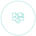 Ul/Csa Marking, Certifications and Ethics, PRISMA Impianti