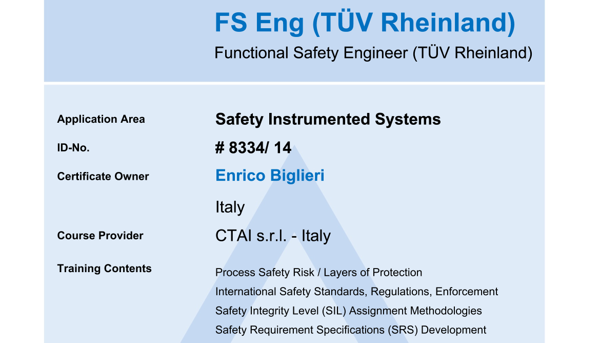 Functional Safety Engineering