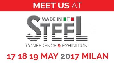 PRISMA Impianti a Made in Steel 2017