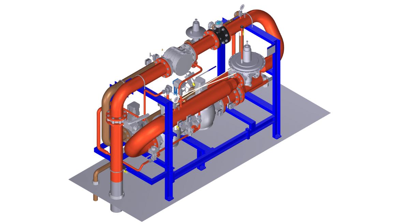 Fuel train design