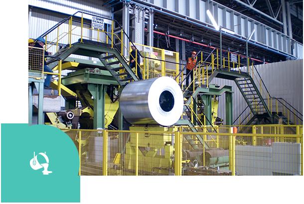 Industries, Steel, PRISMA Impianti, automazione, impiantistica, ingegneria