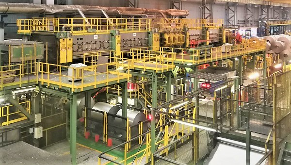 New cleaning section on galvanizing line